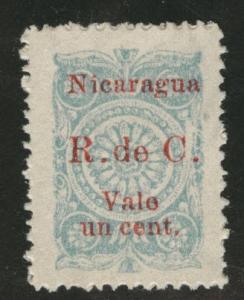 Nicaragua Scott RA24 mint no gum 1923 postal tax stamp