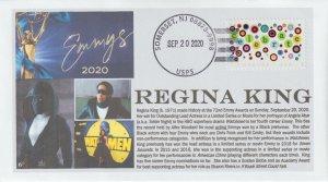 6° Cachets Emmy winner Regina King Lead Actress Movie Sister Night in Watchmen