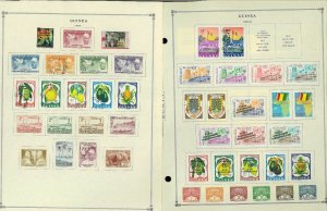 Guinea (ex-French) 1959-1982, M & CTO Hinged on Scott Int.Pages thru 1999
