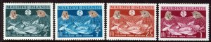 MALDIVE ISLANDS 1963 Net Fishing Freedom from Hunger SG 118 to SG 124 MNH