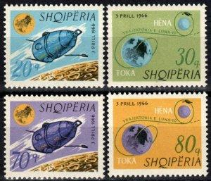 Albania #941-4  MNH CV $4.95  (X2569)