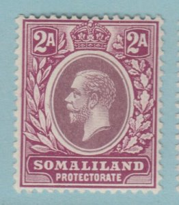 SOMALILAND 53  MINT  HINGED OG *  NO FAULTS VERY FINE! 1912 - 1919