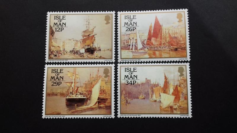Isle of Man 1987 Pictures by John Miller Nicholsen Mint