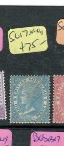BRITISH HONDURAS (PP1312B) 1884 QV 1D  SG17 MOG ANTIQUE OVER 100 YEARS OLD