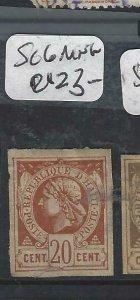 HAITI  (P1506B)  SC 6   MNG