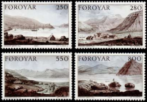 STAMP STATION PERTH Faroe Islands #121-124 Fa114-117 MNH CV$6.00