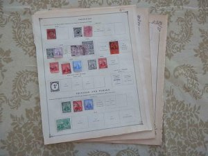 TRINIDAD EXCELLENT OLD COLLECTION 1878-1925 ON PAGE DR SCHULTZ ESTATE !!8683T