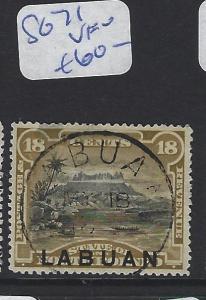 LABUAN (P2307B)   18C   MOUNTAIN   SG 71   SON CDS   VFU
