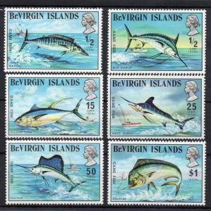 BRITISH VIRGIN ISLANDS - GAME FISH - FISH - 1972 -
