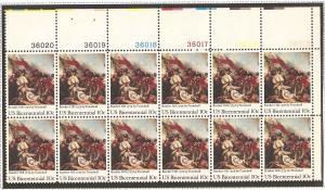 1564 MNH Plate Block of 12 UR #36015-20
