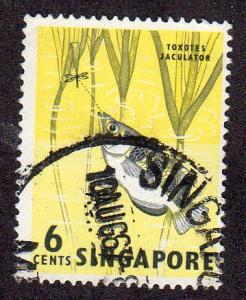 Singapore 56 - Used - Archerfish (cv $0.60) (1)