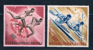 Guinea C58;C60 MNH 1964 Olympics 1964 (G0329)