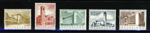 NETHERLANDS 1955 Cultural & Social Relief Fund Set SG 810 to SG 814 MINT