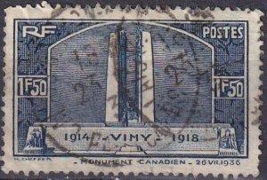 France #312 F-VF UsedCV $9.50 (Z3178)