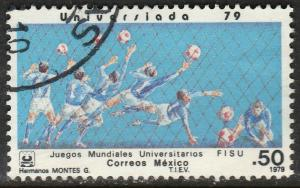 MEXICO 1186, SOCCER University Games. USED. F-VF (717).