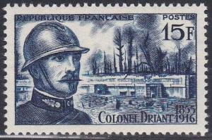 France #788 F-VF Mint NH ** Col. Emil Driant