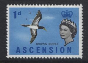 Ascension Islands - Scott 75 - QEII - 1963- MVLH - 1p Multi