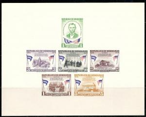 Honduras C300a 1959 Lincoln s.s. MNH