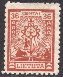 LITHUANIA SCOTT 204
