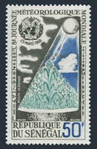 Senegal C62,MNH.Michel 372. WMO Meteorological Day,1968.