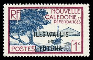Wallis and Futuna Islands 43 Mint (NH)