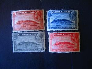 Gibraltar #96-99 Mint Hinged- (AZ8) WDWPhilatelic!