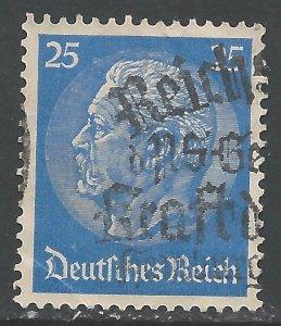 GERMANY 395 VFU X439-6