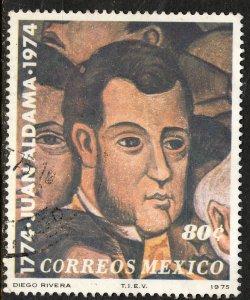 MEXICO 1086 Bicentenary of the birth of Juan Aldama USED. F-VF. (1319)