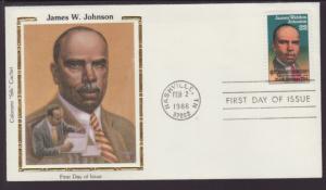 US 2371 James Weldon Johnson 1988 Colorano U/A FDC
