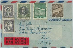 81535 - CHILE - POSTAL HISTORY -    AIRMAIL COVER to ITALY  1958