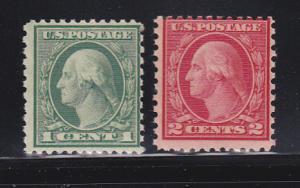 United States 538, 540 MNH George Washington