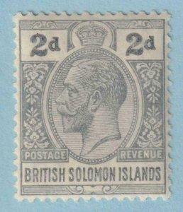 BRITISH SOLOMON ISLANDS 30  MINT HINGED OG * NO FAULTS EXTRA FINE!