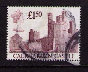 GREAT BRITAIN Sc# 1231 USED FVF Caernarfon Castle