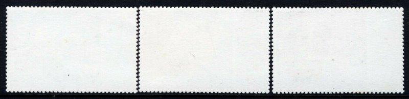 BRITISH ANTARCTIC TERRITORY QE II 1977 Silver Jubilee Set SG 83 to SG 85 MNH