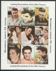 Turkmenistan 1998 Leading Personalities of the 20th Centu...