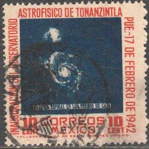 MEXICO 776, 10¢ Tonanzintla Astrophysics Observatory USED, F-VF. (729)