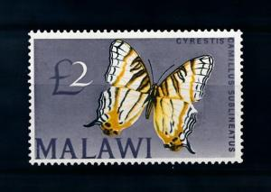 [70665] Malawi 1966 Insects Butterflies From set MNH