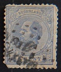 Netherlands 5c 1872-1888 King William III of the Netherlands (2102-Т)