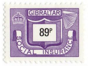 (I.B) Gibraltar Revenue : Social Insurance 89p