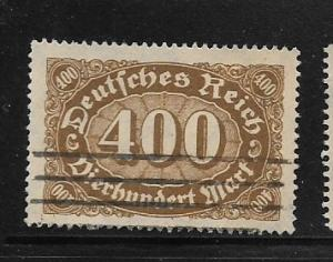 Germany, Inflation Wmk 126 Sc.# 202 Used L1