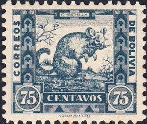 Bolivia  #262   MH  HR