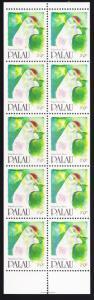Palau Birds Palau Fruit Dove Booklet pane of 10v SG#418 SC#272b