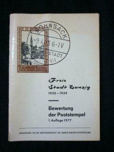 FREI STADT DANZIG 1920-1939 - BEWERTUNG DER POSTSTEMPEL by HASSELHOFF