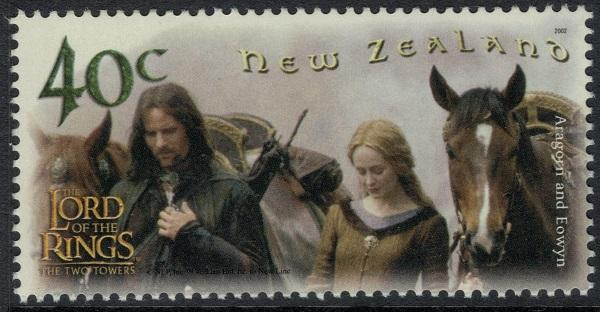 2002 New Zealand Lord of The Rings - The Two Towers Set of 6 MNH VF