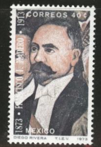 MEXICO Scott 1052 MNH** 1973 Rivera art stamp