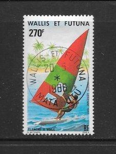 WALLIS & FUTUNA #C119  WIND SURFING.  CANCELLED