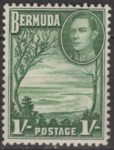 Bermuda; 1938: Sc. # 122: *+/MLH Single Stamp