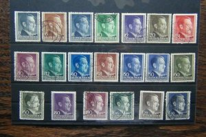 Poland 1941 Hitler Central Government issues to 1.60z MM or Used