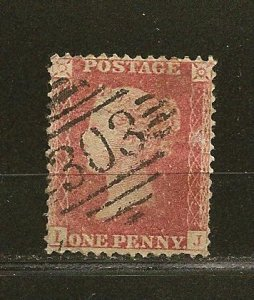 Great Britain Type A10 Queen Victoria LJ Corners Used