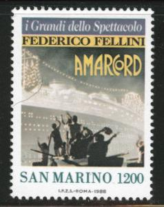 San Marino Scott 1159 MNH** 1988 key stamp